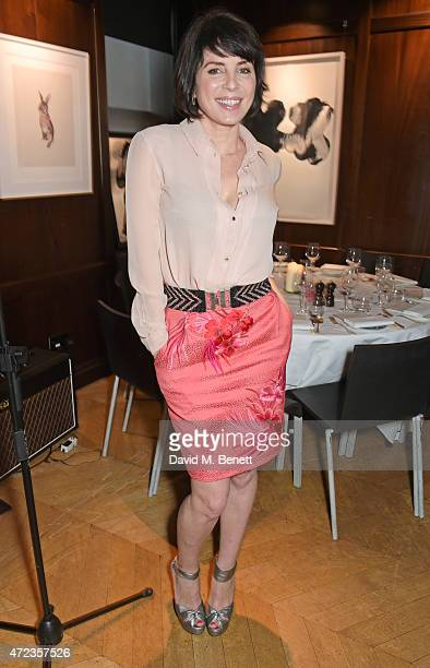 Sadie Frost attends the Hepatitis C Trust charity party hosted by Sadie Frost at The Groucho Club on May 6 2015 in London England