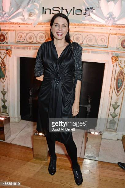 Sadie Frost attends the InStyle Best of British Talent party in celebration of BAFTA in association with Lancome and Sky Living at Dartmouth House on...