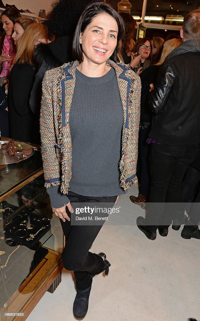 Sadie Frost attends the Lark London boutique launch party on March 25, 2014 in London, England.