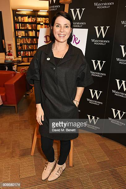 Sadie Frost attends the launch of Annabelle Neilson's new children's books 'Dreamy Me' and 'Messy Me' at Waterstones Piccadilly on February 11 2016...