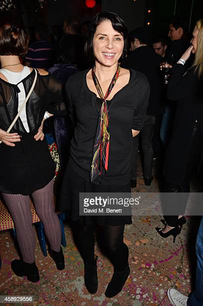 Sadie Frost attends the launch of Same Old Sean's new EP 'Reckless' at Cafe KaiZen on November 13 2014 in London England