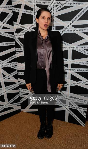 Sadie Frost attends the Les Girls Les Boys festive party at Mahiki Kensington on November 28 2017 in London England