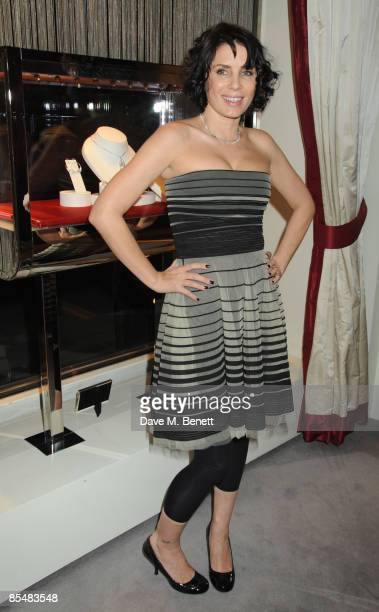 Sadie Frost attends the Mummy Rocks official launch and charity auction in aid of the Great Ormond Street Hospital Children's Charity, at Garrard on...