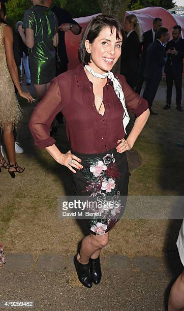 Sadie Frost attends The Serpentine Gallery summer party at The Serpentine Gallery on July 2 2015 in London England