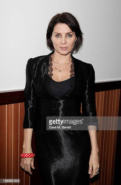 Sadie Frost attends the Vivienne Westwood aftershow dinner at Kitchen Joel Antunes at Embassy Mayfair during London Fashion Week Autumn/Winter 2012...