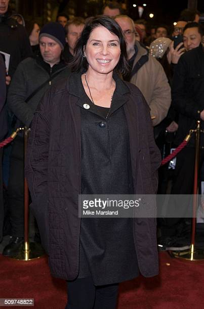 Sadie Frost attends the World Premiere of 'End Of Longing' written by and starring Matthew Perry at Playhouse Theatre on February 11 2016 in London...