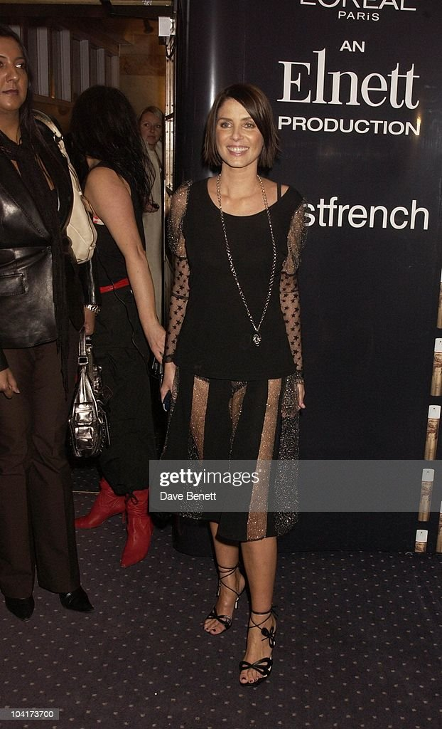Sadie Frost, Frost French Fashion Tea Party At Bafta Cinema In Picadilly,turned The Normal Fashion Show On Its Head As The Audience Was Treated To A Film Of The Designers New Collection, London Fashion Week 2003