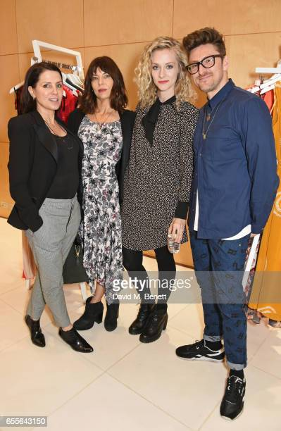 Sadie Frost Jemima French Portia Freeman and Henry Holland attend the Debenhams Summer 17 Salon Show with global supermodel Helena Christensen and...