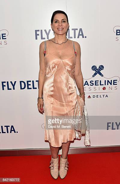 Sadie Frost joins Delta Air Lines for 'Baseline Sessions' a private karaoke event to celebrate London's most iconic tennis tournament at the W...