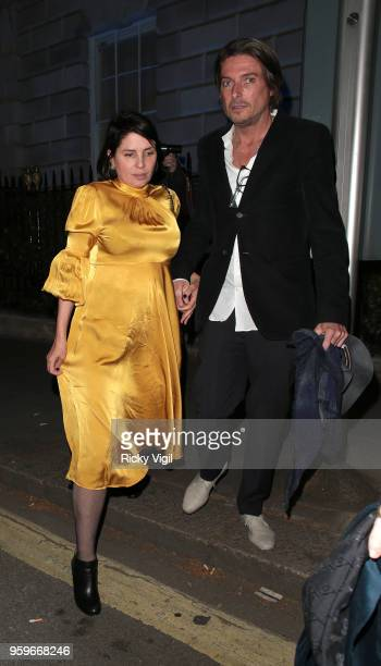 Sadie Frost seen on a night out at Annabel's club in Mayfair on May 17 2018 in London England