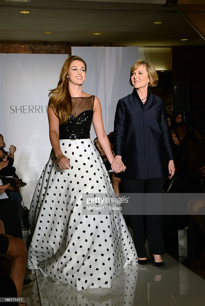 Evening By Sherri Hill - Front Row & Backstage - Spring 2014 Mercedes-Benz Fashion Week : News Photo