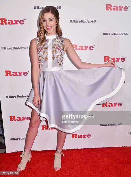 Sadie Robertson attends the inaugural DC RARE Under 40 Awards at Hotel Palomar on April 16 2016 in Washington DC