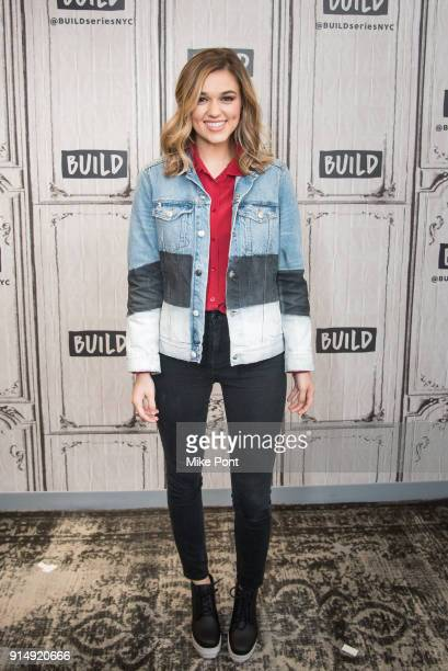 Sadie Robertson visits Build Series to discuss her book 'Live Fearless' at Build Studio on February 6 2018 in New York City