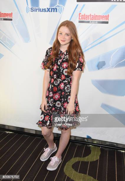 Sadie Sink attends SiriusXM's Entertainment Weekly Radio Channel Broadcasts From Comic Con 2017 at Hard Rock Hotel San Diego on July 22 2017 in San...