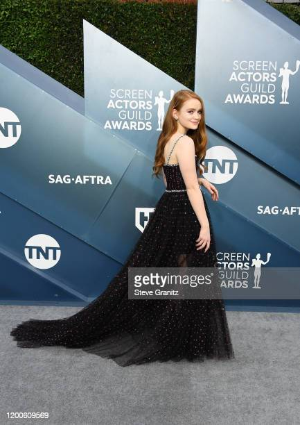 Sadie Sink attends the 26th Annual Screen Actors Guild Awards at The Shrine Auditorium on January 19 2020 in Los Angeles California