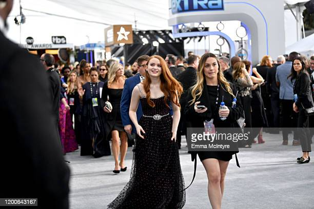 Sadie Sink attends the 26th Annual Screen Actors Guild Awards at The Shrine Auditorium on January 19 2020 in Los Angeles California 721313