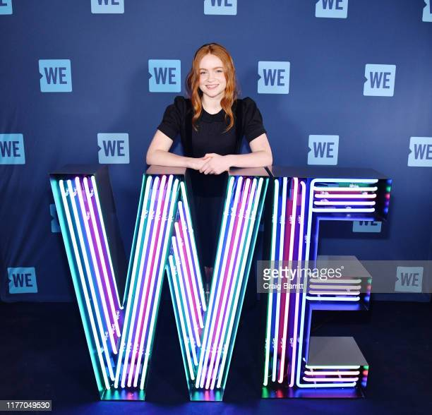 Sadie Sink attends WE Day UN 2019 at Barclays Center on September 25 2019 in New York City
