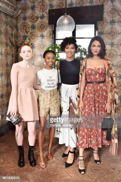 Sadie Sink Skai Jackson Alexandra Shipp and Eiza Gonzalez all wearing Dior attend Lynn Hirschberg Celebrates W Magazine's It Girls With Dior at AOC...