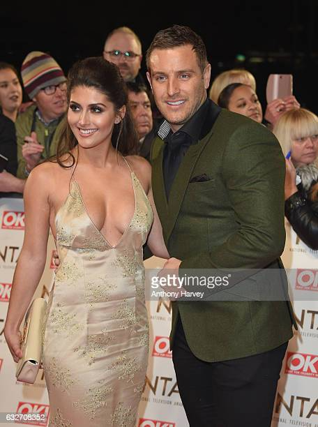 Sadie Stuart and Elliott Wright attends the National Television Awards on January 25 2017 in London United Kingdom