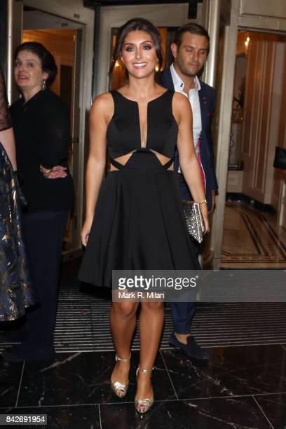 Sadie Stuart attending the TV choice awards on September 4, 2017 in London, England.