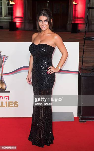Sadie Stuart attends The Sun Military Awards at The Guildhall on December 14 2016 in London England