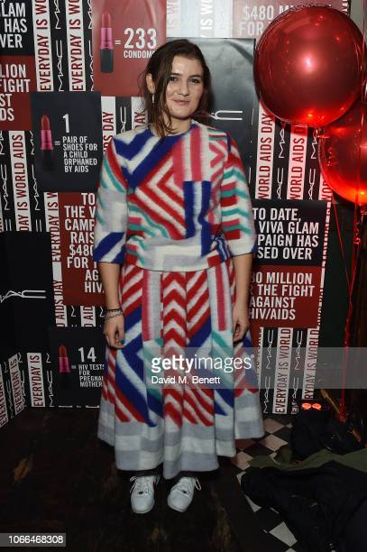 Sadie Williams attends MAC party celebrating World Aids Day on November 29 2018 in London England