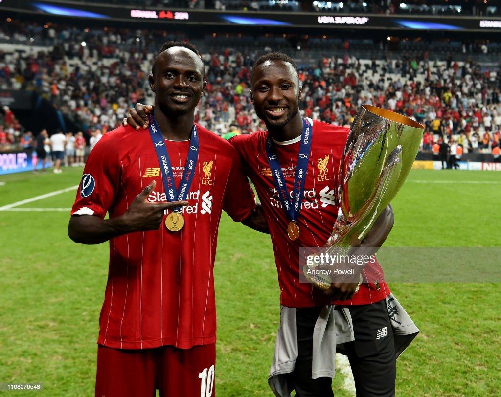 Liverpool v Chelsea: UEFA Super Cup : Nachrichtenfoto