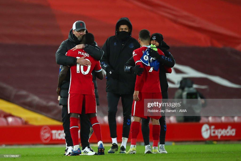 Liverpool v Everton - Premier League : Fotografia de notícias