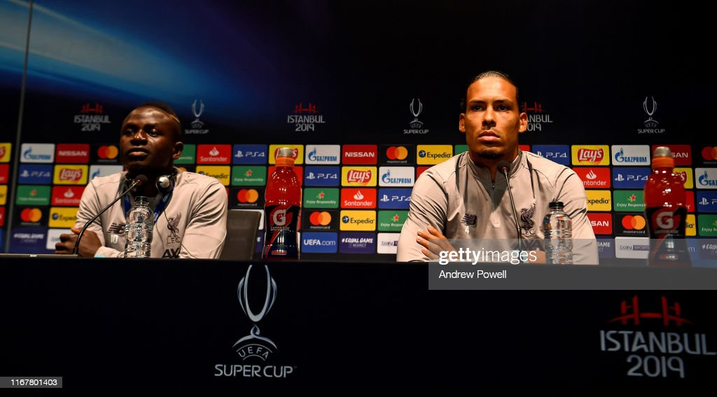 Liverpool v Chelsea: UEFA Super Cup Previews : Nachrichtenfoto