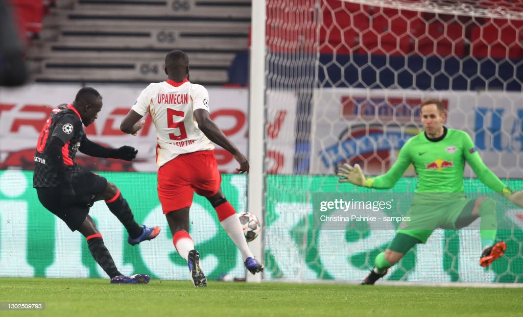 RB Leipzig v Liverpool FC  - UEFA Champions League Round Of 16 Leg One : ニュース写真
