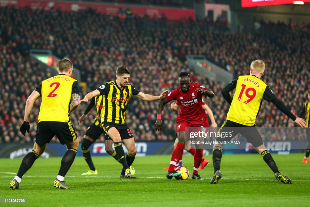 Liverpool FC v Watford FC - Premier League : News Photo