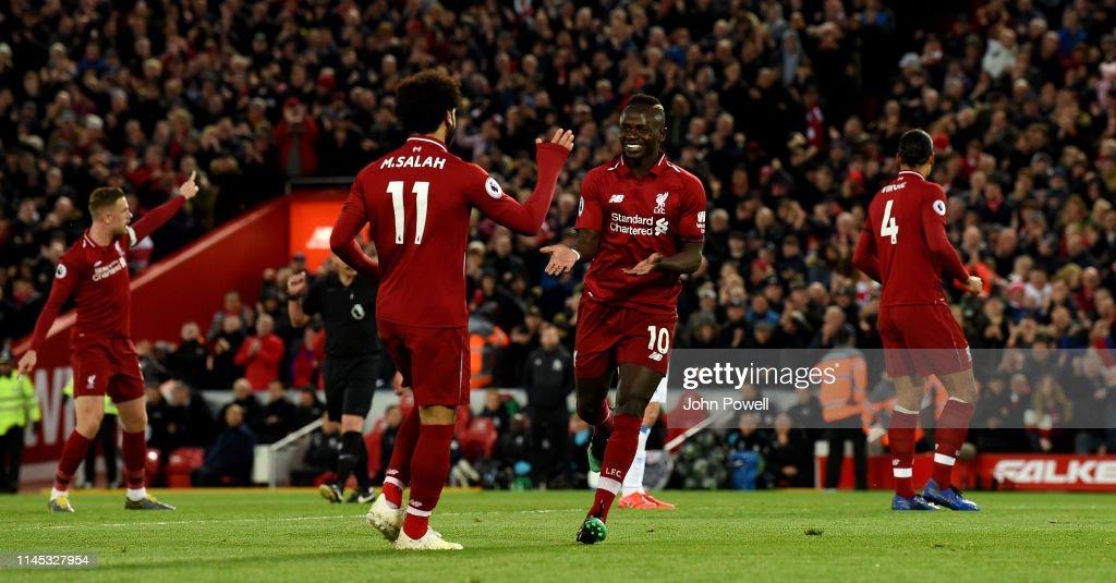 Liverpool FC v Huddersfield Town - Premier League : News Photo