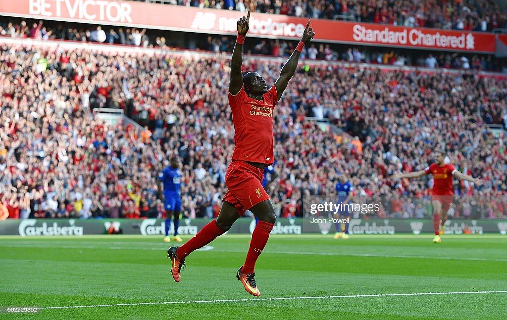 Liverpool v Leicester City - Premier League : News Photo
