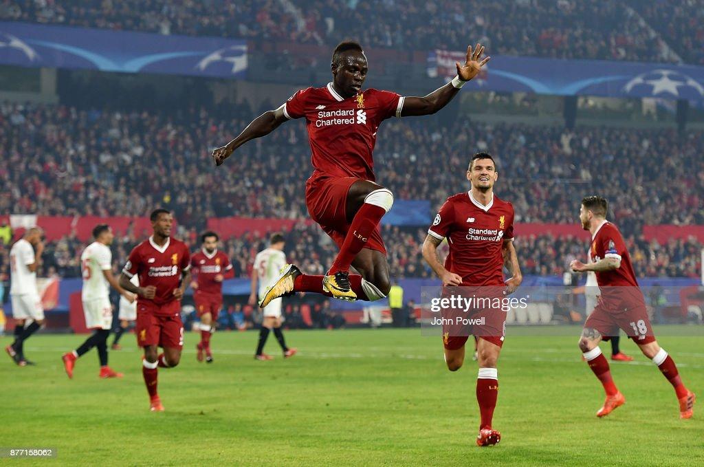 Sevilla FC v Liverpool FC - UEFA Champions League : ニュース写真
