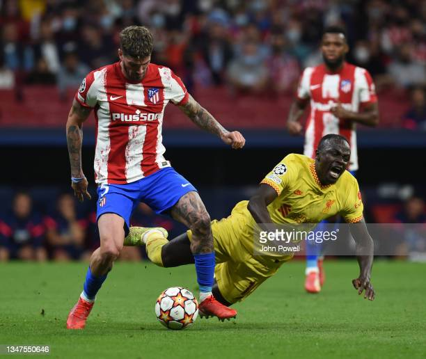 Sadio Mane of Liverpool during the UEFA Champions League group B match between Atletico Madrid and Liverpool FC at Wanda Metropolitano on October 19,...