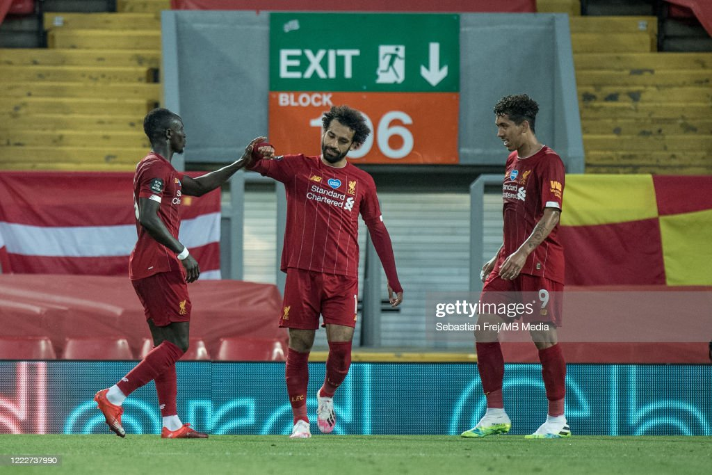 Liverpool FC v Crystal Palace - Premier League : ニュース写真