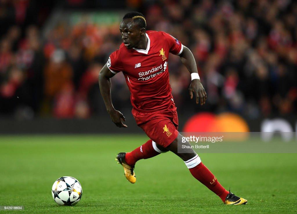 Liverpool v Manchester City - UEFA Champions League Quarter Final Leg One : ニュース写真