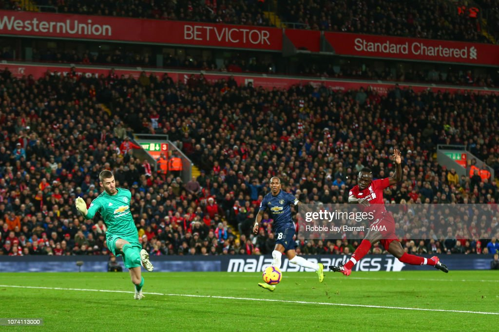 Liverpool FC v Manchester United - Premier League : News Photo