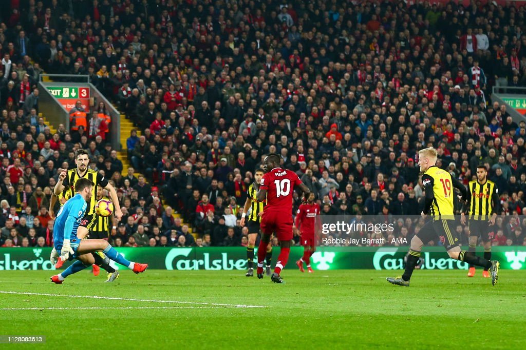 Liverpool FC v Watford FC - Premier League : Fotografia de notícias