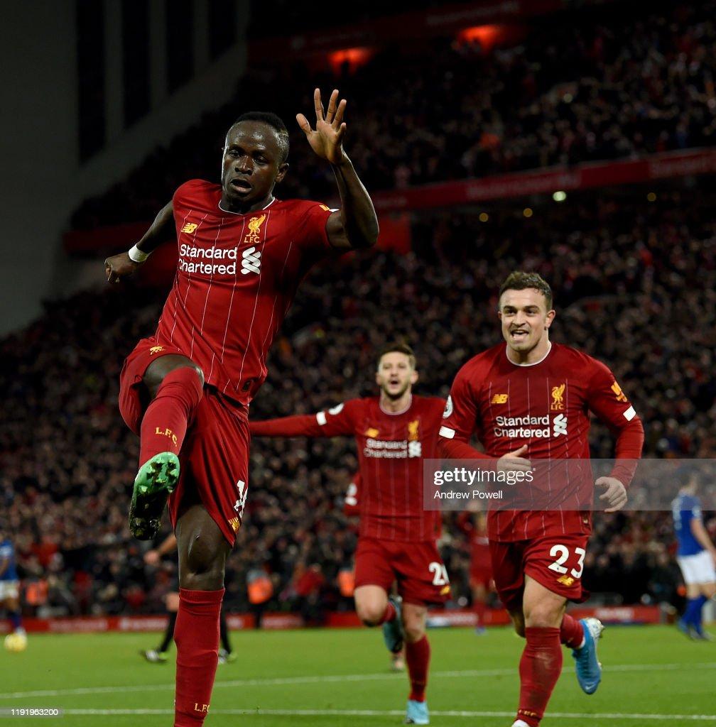 Liverpool FC v Everton FC - Premier League : ニュース写真