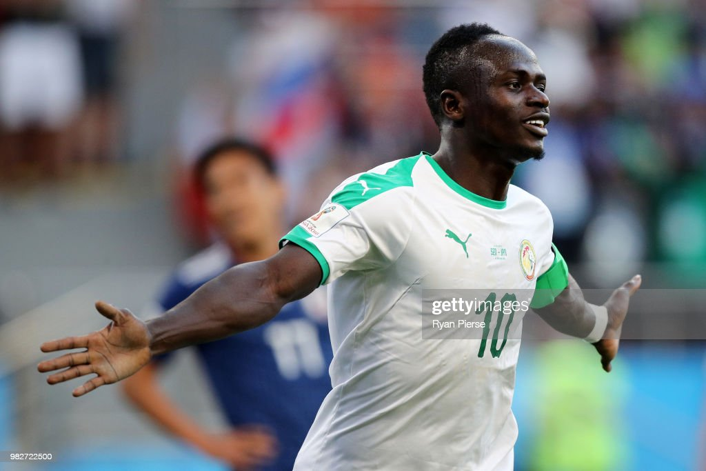 Japan v Senegal: Group H - 2018 FIFA World Cup Russia : Nachrichtenfoto