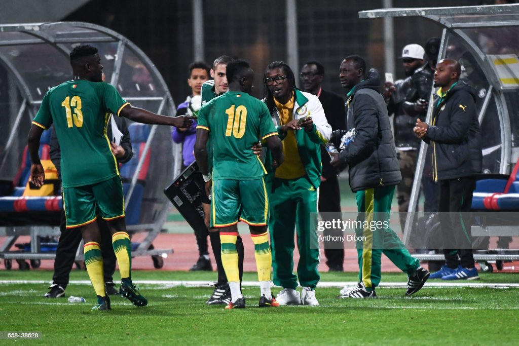 Senegal vs Ivory Coast - Friendly match : Nachrichtenfoto