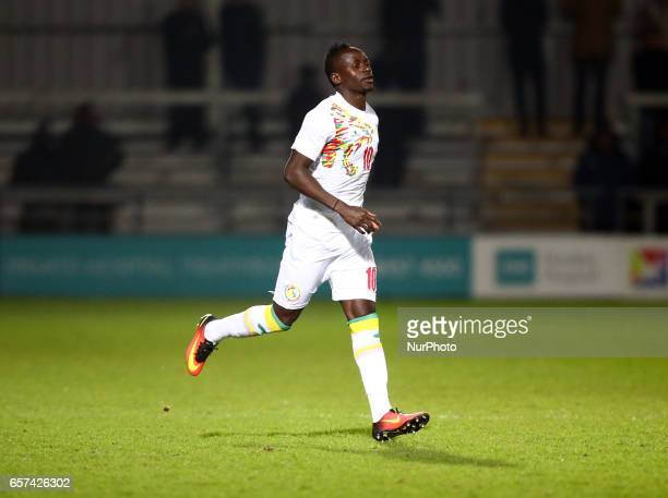 Sadio Mane of Senegal during International Friendly match between Nigeria against Senegal at The Hive Barnet FC on 23rd March 2017