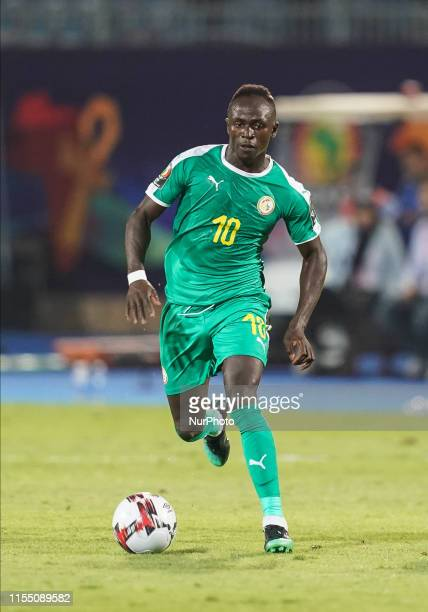 Sadio Mane of Senegal during the 2019 African Cup of Nations match between Senegal and Benin at the 30 June Stadium in Cairo, Egypt on July 10,2019.