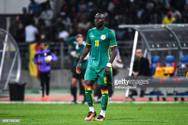 Sadio Mane of Senegal during the friendly match between Senegal and Ivory Coast at Stade Charlety on March 27 2017 in Paris France