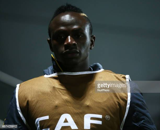 Sadio Mane of Senegal during the prematch warmup during International Friendly match between Nigeria against Senegal at The Hive Barnet FC on 23rd...