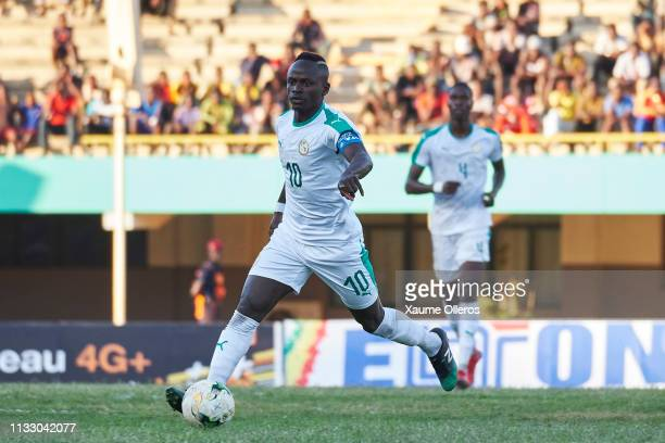 Sadio Mane of Senegal during the preparation friendly match against Mali after both teams qualified for the 2019 CAN held in Egypt, on March 26, 2019...