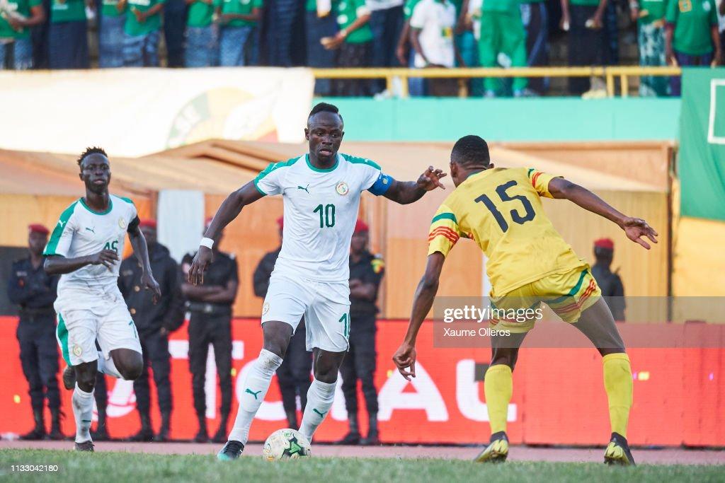 SEN: Senegal v Mali: African Cup of Nations Qualifier
