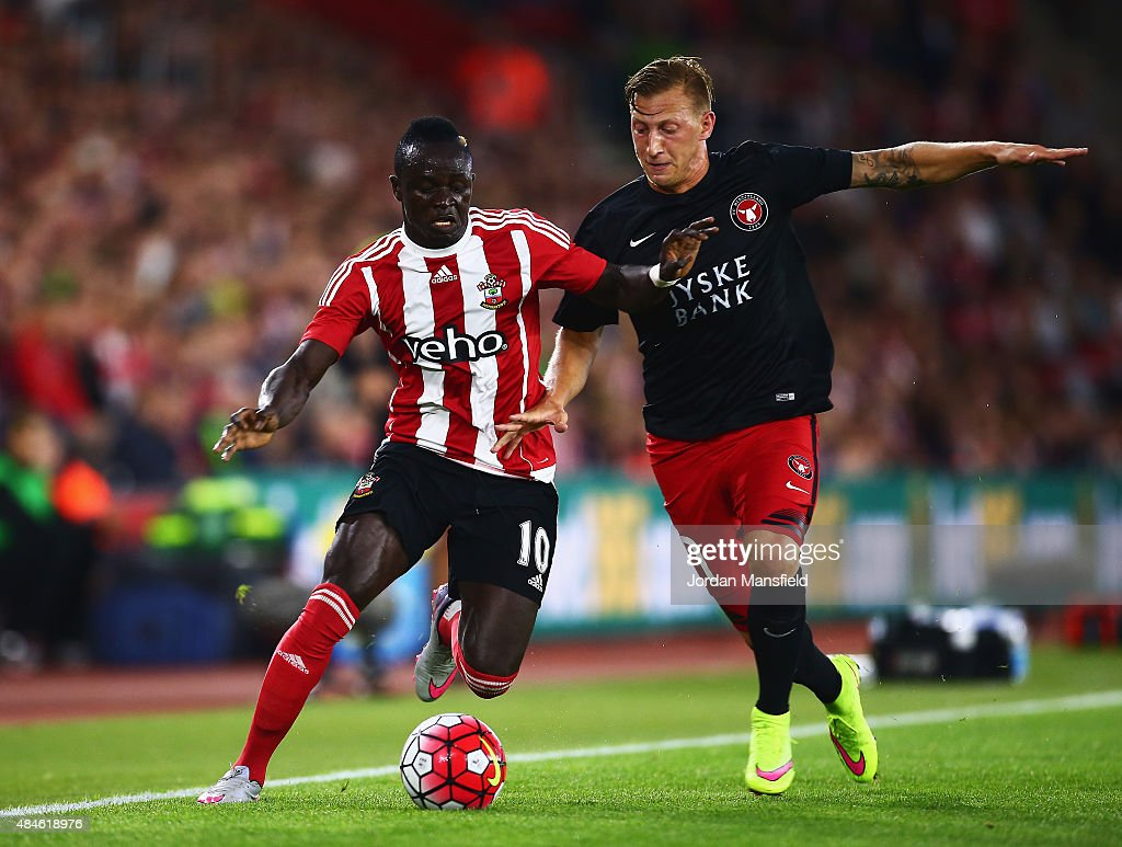 Southampton v Midtjylland - UEFA Europa League: Play Off Round 1st Leg : News Photo
