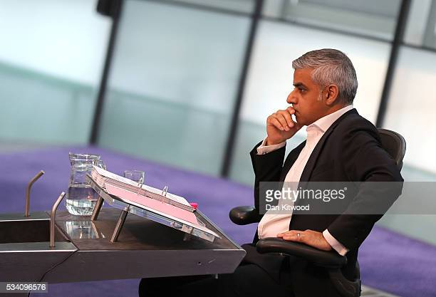 Sadiq Khan attends his first Mayor's question time at City Hall on May 25 2016 in London England The new London Mayor elected in May answers...